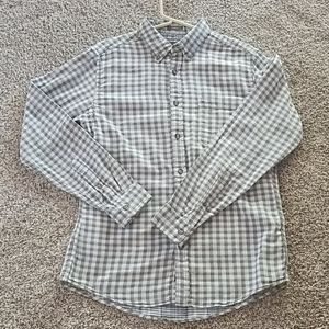 Men's Eddie Bauer check button down